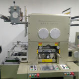 PLC는 자동적인 레이블 플래튼을 구르기 위하여 롤을 정지한다 절단기를 정지한다 절단기를 통제했다