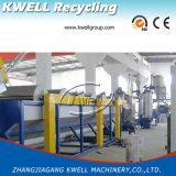Máquina de reciclaje de la escama de la botella del animal doméstico del grado superior con la arandela caliente