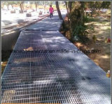 Reja galvanizada sumergida caliente de la plataforma