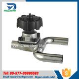 Tipo sanitário válvulas do aço inoxidável U de diafragma