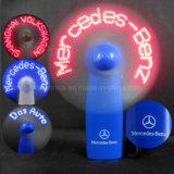 Ventilador del mensaje ligero de los regalos LED de la promoción mini (3509)