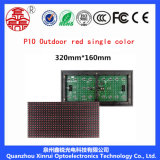 P10 sondern rote LED-Baugruppen-Bildschirm-Text-Bildschirmanzeige aus