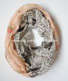Верхний продавая шарф Tublar хлопка печатание Jont арбуза имитационный (HWBPS879)