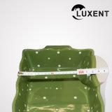 Dimensión de una variable ondulada de la venta de la boda del rectángulo de cerámica superior del color que cocina las bandejas