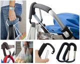 Gancho da mamã, gancho de gancho do carrinho de criança para sacos do tecido do bebê e carros de compra