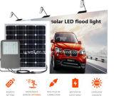 Energía solar para la iluminación del estacionamiento con el panel solar
