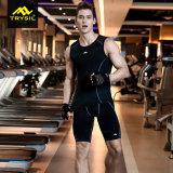 Ropa de deportes de la aptitud de los pantalones cortos de la compresión de los hombres