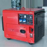 バイソン(中国) BS6500dse 5kw 5kVA 5000W 1年の保証のホーム携帯用大きい力の販売のためのディーゼル発電機セット