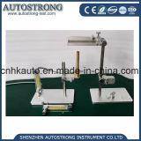 Probador vertical electrónico de la llama del equipo de prueba del fuego de la potencia