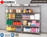 5 het Opschortende Rek van de Draad van het Staal van de Opslag van de Keuken Restraurant van rijen 800lbs, Goedkeuring NSF