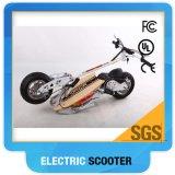 60V scooter électrique de moteur sans frottoir de la batterie 2000W avec la barre de traitement