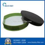 Зеленый фильтр циркуляра HEPA для пылесоса