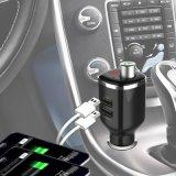 2 em 1 carregador duplo do carro do USB do humidificador