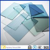 vidrio de flotador teñido azul gris de Ford del bronce claro del verde azul de 3-12m m y vidrio teñido