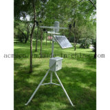 Estación meteorológica al aire libre del monitor automático