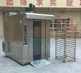 Машина еды 16 подносов электрическая/газ/тепловозная роторная печь шкафа