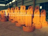 Carrier van de Draad van het Staal van de Basis van de Afzet van de fabriek de Oranje