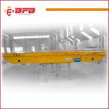製鉄所の屋内コイルの処理のためのモーターを備えられた転送のトロリー