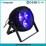 De LEIDENE van het Gezoem van de hoge Macht 3PCS 60W RGBW Lamp van het PARI voor Stadium