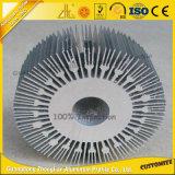 radiateur de usinage d'aluminium de pièces anodisé par 6000series