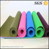 Estera respetuosa del medio ambiente barata de la yoga de la TPE del aseguramiento comercial para el SGS