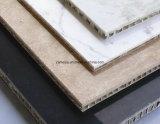 El panal de piedra artesona el revestimiento externo de la pared