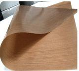 Doublures remplaçables de four du nettoyage PTFE de fibre de verre de teflon facile de tissu