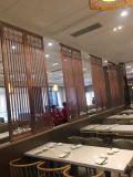 주문품 대중음식점 스크린 분배자 금속 Laser 커트 스크린