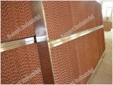 Tapis de refroidissement évaporatif à l'abeille agricole / mur de refroidissement