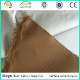 Silbernes überzogenes Gewebe 100% des Polyester-Taft-210t für Vorhang-Kleid-Auto-Deckel