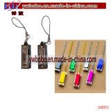 Presentes relativos à promoção Keyholder do Natal da corrente chave da pele de Keychain (G8017)
