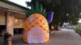 Tenda di pubblicità gonfiabile della cupola dell'ananas della frutta da vendere