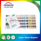 Stampa interna della scheda di colore della vernice del materiale da costruzione