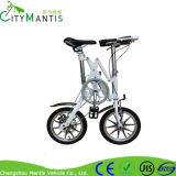Einzelner Geschwindigkeits-Aluminiumlegierung-Rahmen-faltbares Fahrrad 14 Zoll Mini