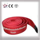 10bar 2.5インチの販売のための赤い単一のジャケットの消火ホース