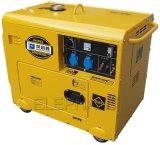 低価格の防音の無声おおい携帯用5kVA 6kVAのディーゼル発電機
