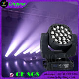 DJ Equipment Bee Eye 19X15W RGBW LED Zoom Moving Head DMX Lighting