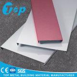 Form-Entwurfs-akustische Aluminiumlatte-Decke für u-lineare Decke