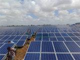 Venta a granel 156X156 una célula solar de silicio grada B del picovoltio del grado para el panel solar