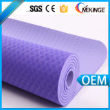 Mejor agarre antideslizante Fitness TPE Yoga Mat con bolsa de yoga