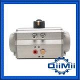 Cabeça pneumática de alumínio do produto comestível para a válvula do aço inoxidável