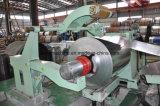 Línea automática máquina el rebobinar de la alta precisión que raja para la bobina de acero