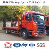 크고 무거운 기계의 Transportion를 위한 JAC 소형 평상형 트레일러 트럭