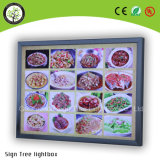 Alluminio LED ultra sottile Lightbox