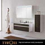 Шкафы раковины ванной комнаты с искусственной каменной верхней частью Tivo-0023vh