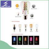 Lámpara de filamento de G95 E27 LED con retro