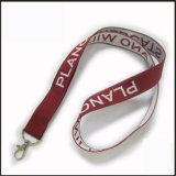 광고를 위한 튼튼한 길쌈하는 자카드 직물 또는 뜨개질을 하는 로고 주문 방아끈