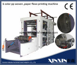 Document, de pp Geweven PE van pvc EPS Flexographic Machine van de Druk