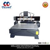 Machine en bois rotatoire de travail du bois de commande numérique par ordinateur de couteau de commande numérique par ordinateur de 4 axes (VCT-3230FR-10H)