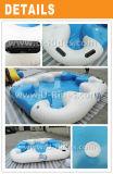 Надувной островный плот для вечеринки или аквапарка